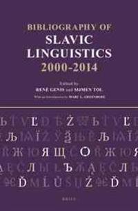 Bibliography of Slavic Linguistics, 2000-2014 (3 Vols)