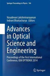 Advances in Optical Science and Engineering