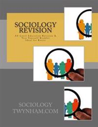 Sociology Revision As-Level Education Revision & Test Yourself Booklet Ideal for Resits