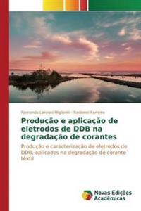 Producao E Aplicacao de Eletrodos de Ddb Na Degradacao de Corantes