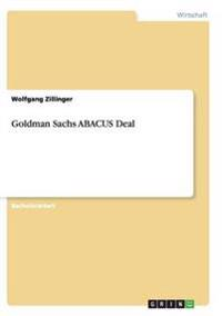 Goldman Sachs Abacus Deal