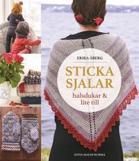Sticka sjalar, halsdukar och lite till - Erika Åberg pdf epub