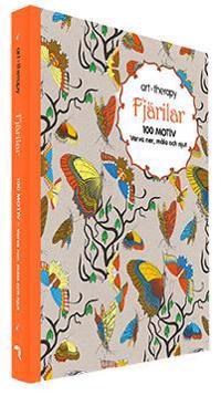 Fjärilar : 100 motiv - varva ner, måla och njut