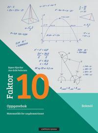 Faktor 10: oppgavebok