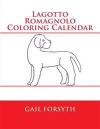 Lagotto Romagnolo Coloring Calendar
