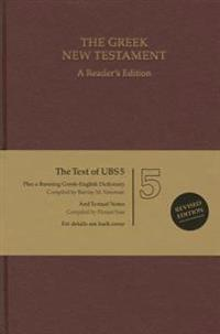 UBS 5th Revised Greek New Testament Reader's Edition: 124377