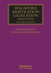 Singapore Arbitration Legislation