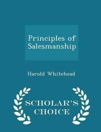 Principles of Salesmanship - Scholar's Choice Edition