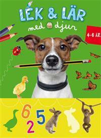 Lek & Lär med djur (4-6 år grön)