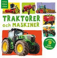 Traktorer och maskiner - 9 olika titlar