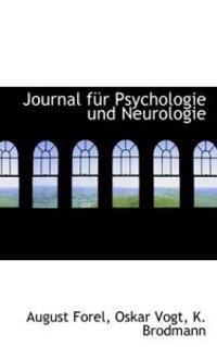 Journal Fur Psychologie Und Neurologie