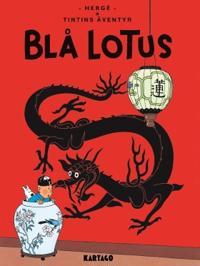 Tintins äventyr. Blå lotus