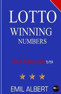 Lotto Winning Numbers USA Powerball 5/59