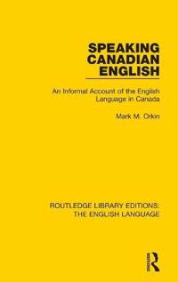 Speaking Canadian English