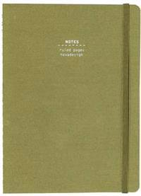 Nava Everything Pocket Notebook, Olive
