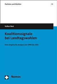 Koalitionssignale Bei Landtagswahlen: Eine Empirische Analyse Von 1990 Bis 2012