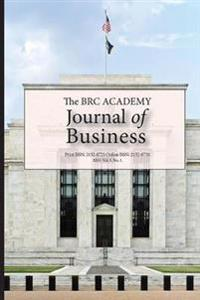 The Brc Academy Journal of Business Vol. 5 No. 1