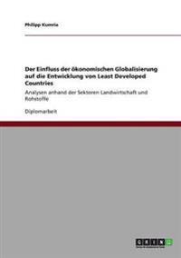 Der Einfluss Der  konomischen Globalisierung Auf Die Entwicklung Von Least Developed Countries