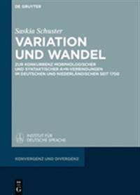 Variation Und Wandel: Zur Konkurrenz Morphologischer Und Syntaktischer A+n-Verbindungen Im Deutschen Und Niederlandischen Seit 1700