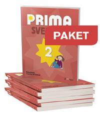 Prima Svenska 2 Basbok Paket 25 ex + Lärarwebb Indlic 12 mån