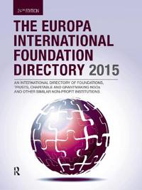 The Europa International Foundation Directory 2015