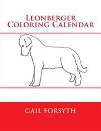 Leonberger Coloring Calendar