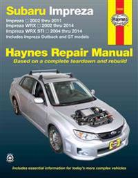 Subaru Impreza and WRX Automotive Repair Manual