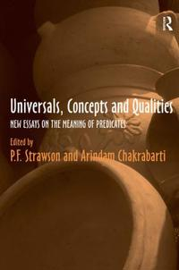 Universals, Concepts And Qualities