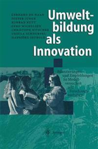 Umweltbildung Als Innovation