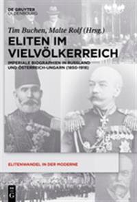 Eliten Im Vielvolkerreich / Elites and Empire