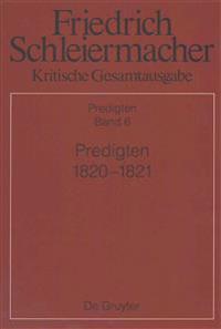 Predigten 1820-1821