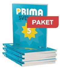Prima Svenska 5 Basbok Paket 20 ex + Lärarwebb Indlic 12 mån