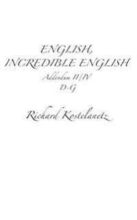English, Incredible English Addendum II/IV