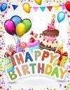 Happy Birthday: Celebration Memory Book