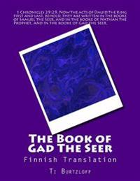 The Book of Gad the Seer: Finnish Translation
