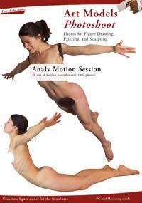 Art Models Photoshoot AnaIv Motion Session