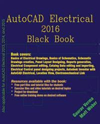 AutoCAD Electrical 2016 Black Book