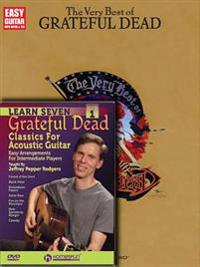 Grateful Dead Guitar Pack: Includes Learn 7 Grateful Dead Classics DVD and Very Best of Grateful Dead Book