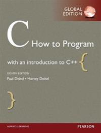 C How to Program with MyProgrammingLab, Global Edition