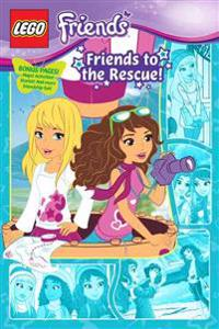 Lego Friends: Friends to the Rescue! (Graphic Novel #2)