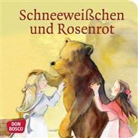 Schneeweißchen und Rosenrot. Mini-Bilderbuch.