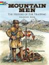 Mountain Men -- The History of Fur Trapping Coloring Book