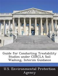 Guide for Conducting Treatability Studies Under Cercla Soil Washing, Interim Guidance