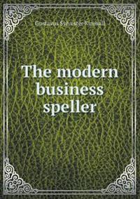 The Modern Business Speller