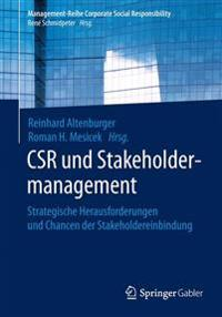 Csr Und Stakeholdermanagement
