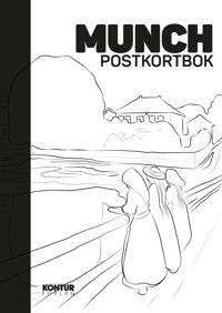 Munch postkortbok