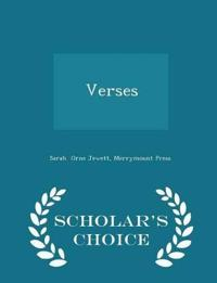 Verses - Scholar's Choice Edition