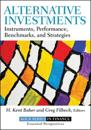 Alternative Investments: Instruments, Performance, Benchmarks, Strategies