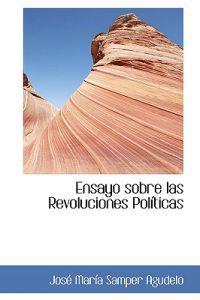 Ensayo sobre las Revoluciones Politicas
