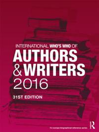 International Who's Who of Authors and Writers 2016